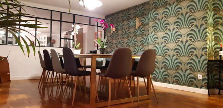 Estudio RYD, S.L. Walls & flooringWallpaper Paper Green