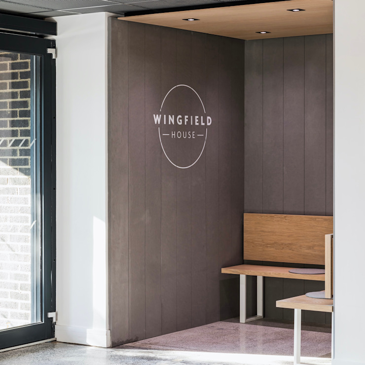 Wingfield House by WN Interiors WN Interiors + WN Store Commercial Spaces