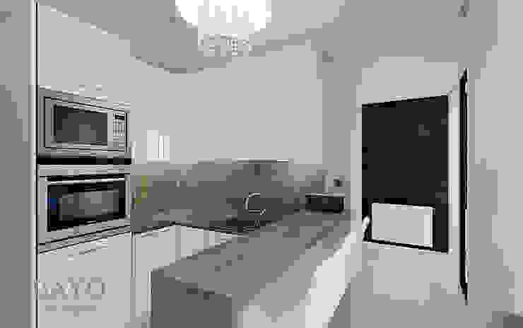 Small kitchen BAYO Design Studio Small kitchens MDF White