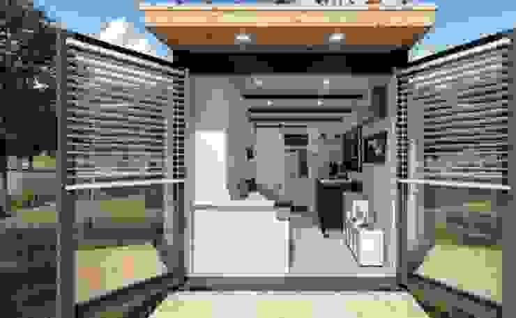 Türen 270° schwenkbar homify Kleines Haus