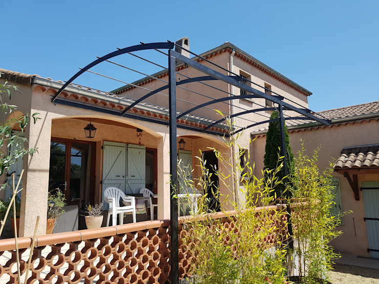 LBMS. Fabrice Lamouille Modern terrace Metal