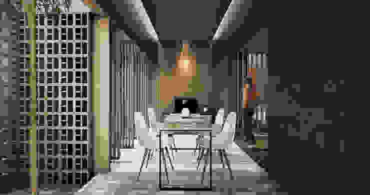 Ruang Makan, Dining studioreka architect Ruang Makan Modern