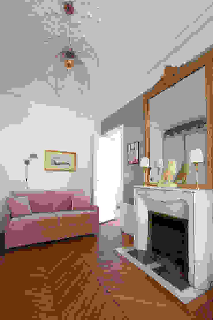 Salon boudoir haussmanien MISS IN SITU Clémence JEANJAN Salon original