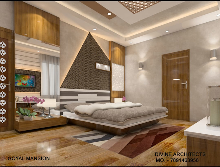 Classic style bedroom by divine architects Classic