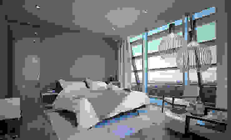 FISCHER & PARTNER lichtdesign. planung. realisierung Modern Bedroom