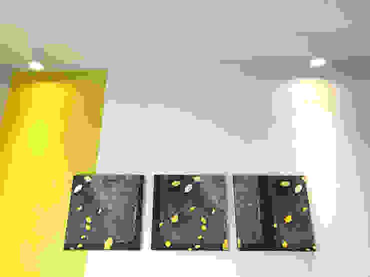 Dettaglio soffitto camera 02 Camera da letto eclettica di Studio Zay Architecture & Design Eclettico