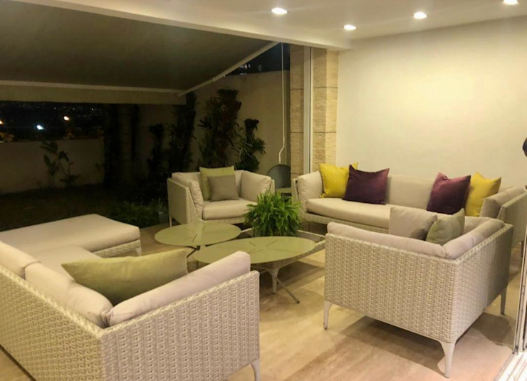 THE muebles Modern living room Aluminium/Zinc Multicolored