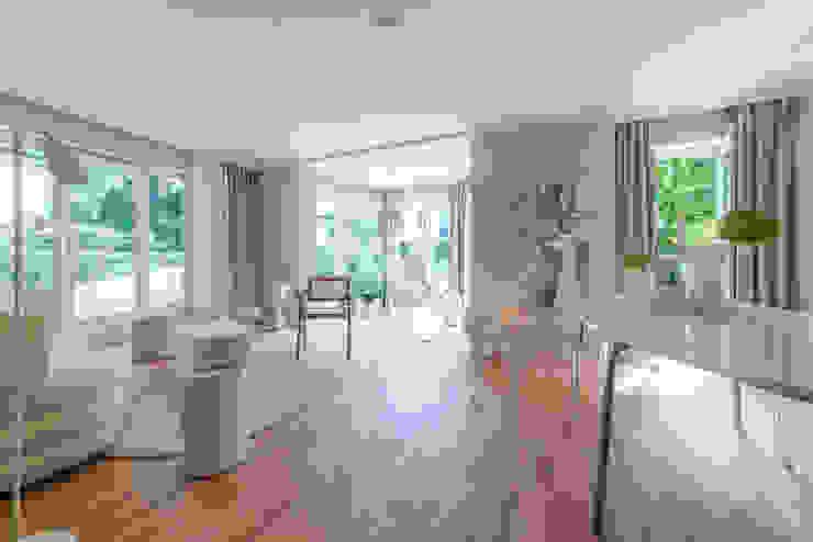 Münchner home staging Agentur GESCHKA Classic style living room Beige