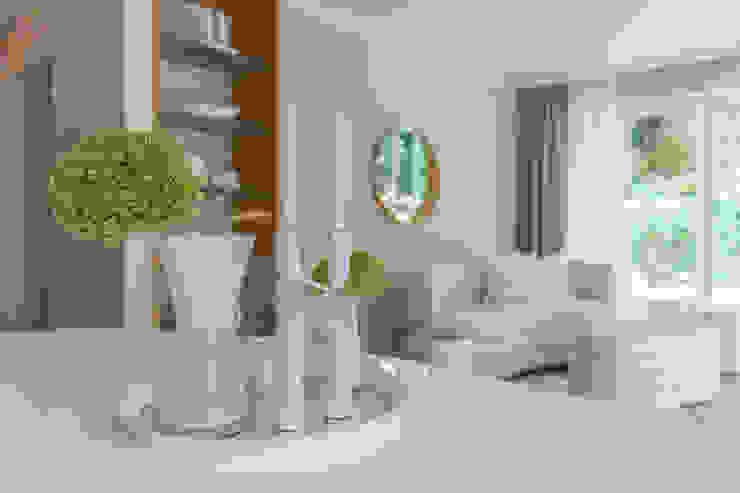 Münchner home staging Agentur GESCHKA Living roomAccessories & decoration Transparent