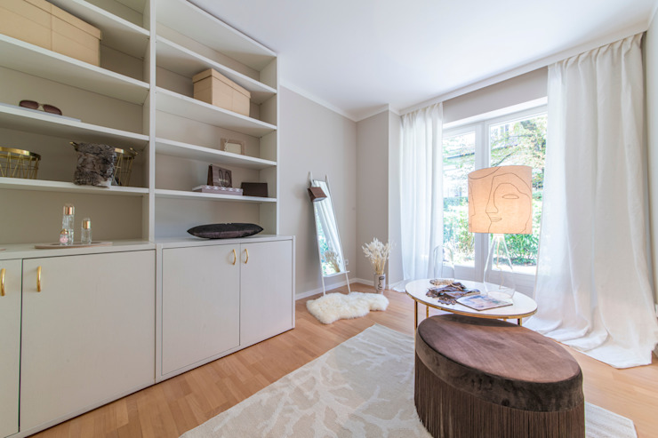 Münchner home staging Agentur GESCHKA Classic style dressing room