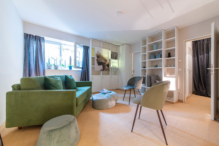 Münchner home staging Agentur GESCHKA Classic style study/office
