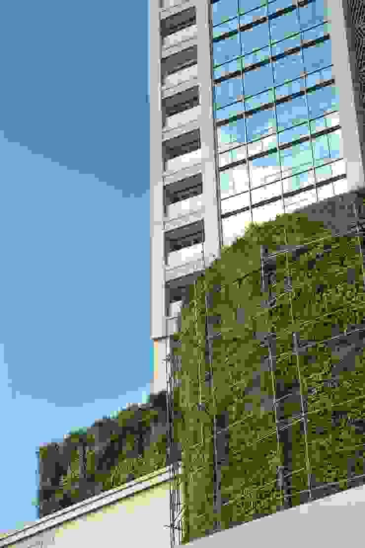 Beta Landscape Indonesia Hotéis modernos Alumínio/Zinco Multi colorido