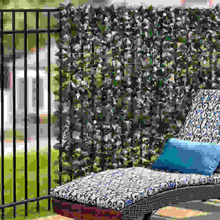 Artificial Ivy Garden Screening Sunwing Industries Ltd Bungalows Plástico Verde