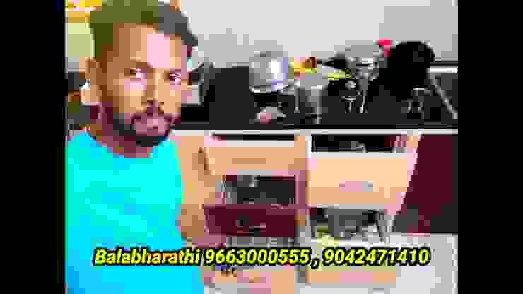 low cost pvc interiors in coimbatore 9042471410 balabharathi pvc interior design KitchenCabinets & shelves Plastic Wood effect