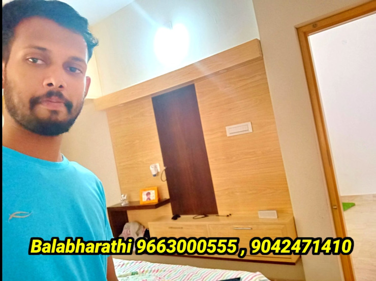 low cost pvc interiors in coimbatore 9042471410 balabharathi pvc interior design Living roomTV stands & cabinets Plastic Wood effect