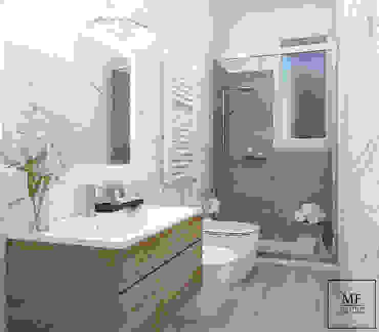 Palazzina a Roma MF Studio Design Bagno moderno