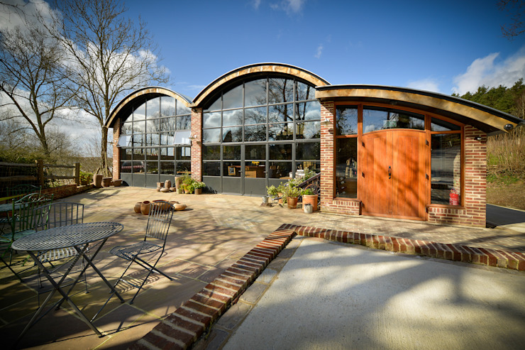 Sedlescombe Vineyard, East Sussex Clement Windows Group Commercial Spaces Metal
