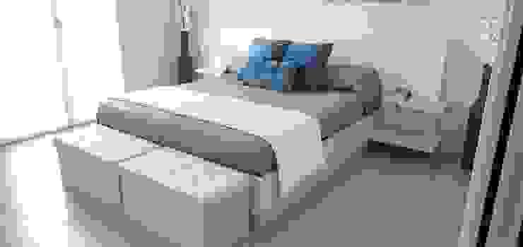 Letto contenitore Falegnameria Agostini Camera da letto moderna