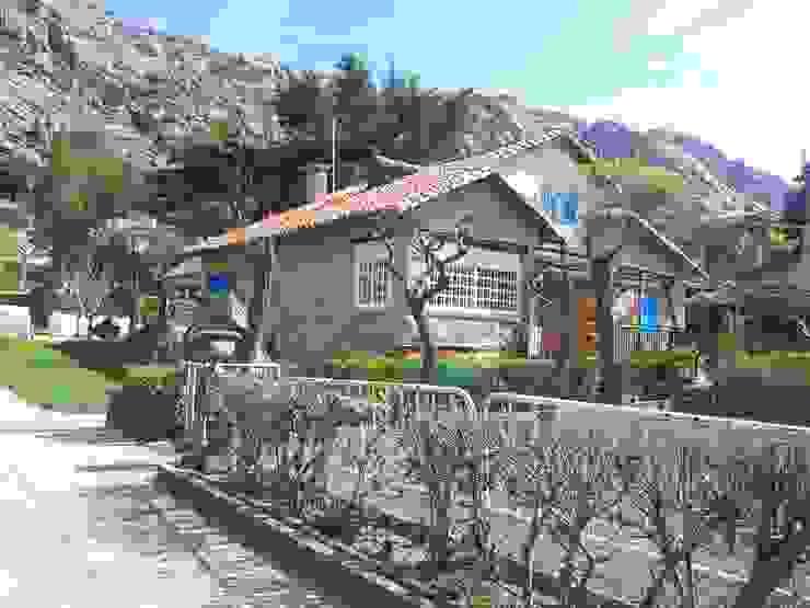 Vista del exterior antes MULTISERVICIOS EGO INGENIEROS SL Casas de estilo rústico
