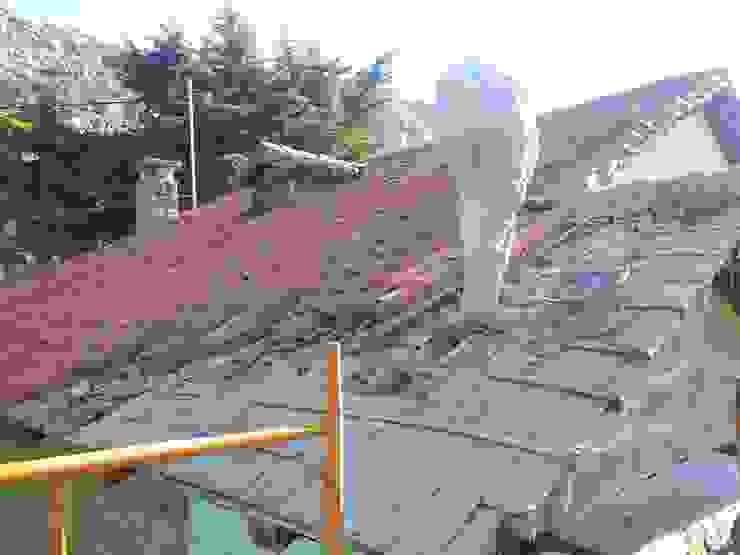 Cobertura de teja MULTISERVICIOS EGO INGENIEROS SL Casas de estilo rústico