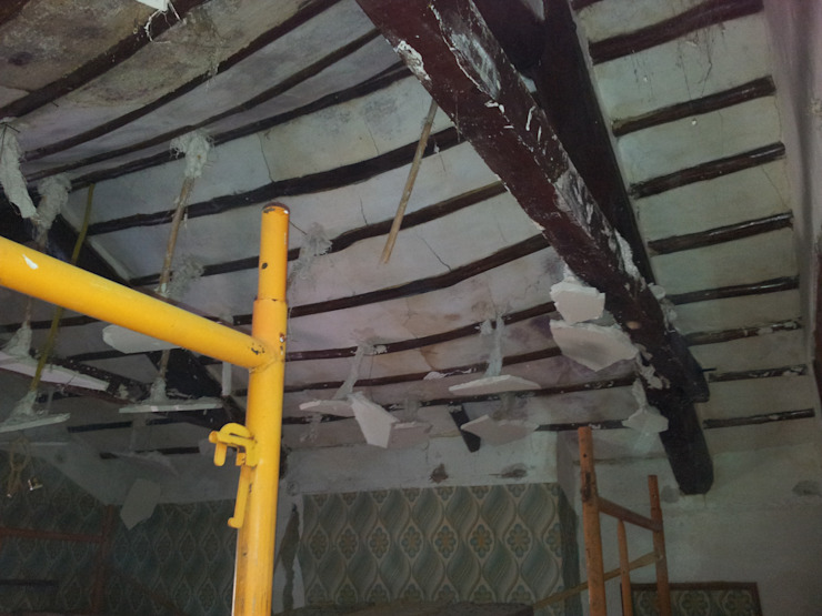Estado techo MULTISERVICIOS EGO INGENIEROS SL Casas de estilo rústico