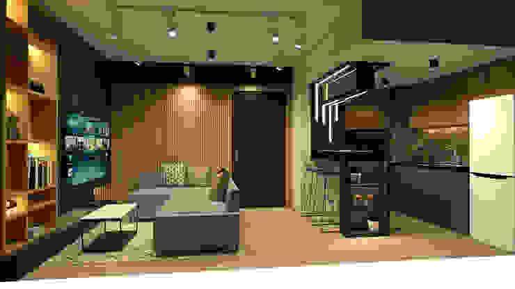 LIVING/DINING/KITCHEN Studio Lona Living room