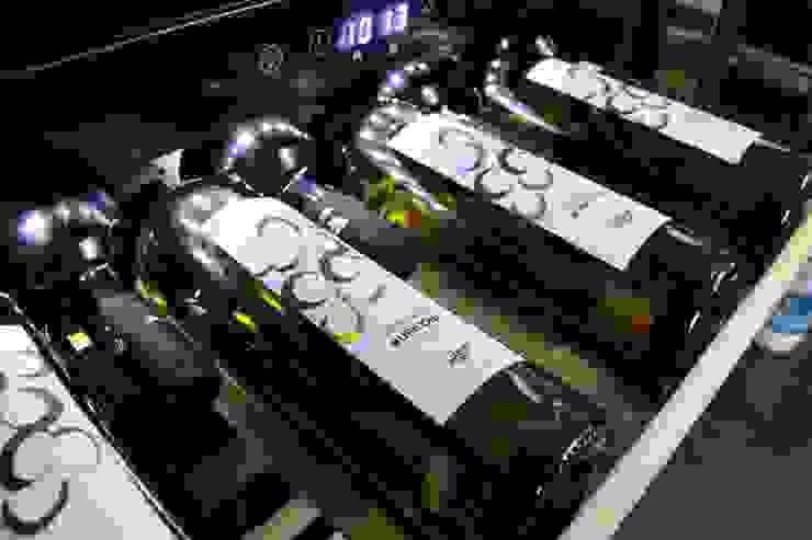 Datron   Cantinette vino Modern Home Wine Cellar Black