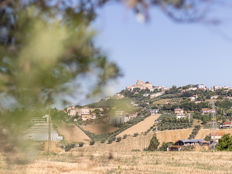 La vista del borgo di Monteprandone PROPERTY TALES Casa rurale