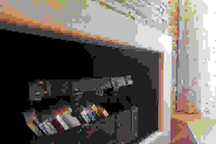 antonio felicetti architettura & interior design Classic style living room Marble Beige