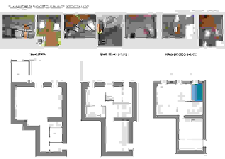 Report Esempio_Progetto a Distanza: Casa Lm . antonio felicetti architettura & interior design Camera da letto piccola