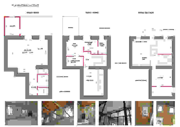 Report Esempio_Progetto a Distanza: Casa Lm . antonio felicetti architettura & interior design Scale