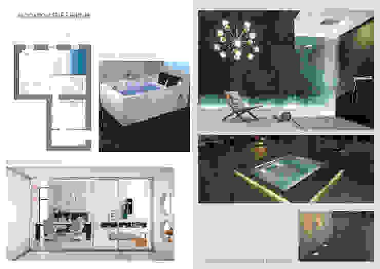 Report Esempio_Progetto a Distanza: Casa Lm . antonio felicetti architettura & interior design Camera da letto moderna
