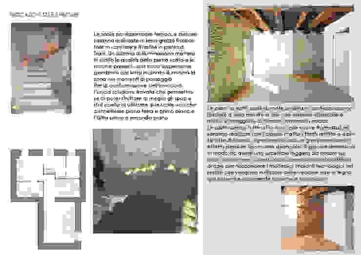 Report Esempio_Progetto a Distanza: Casa Lm . antonio felicetti architettura & interior design Ingresso, Corridoio & Scale in stile moderno