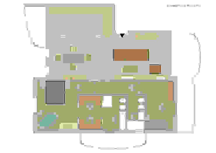 Report Esempio 2_Progetto a Distanza: La Casa di Marmo Camera da letto moderna di antonio felicetti architettura & interior design Moderno