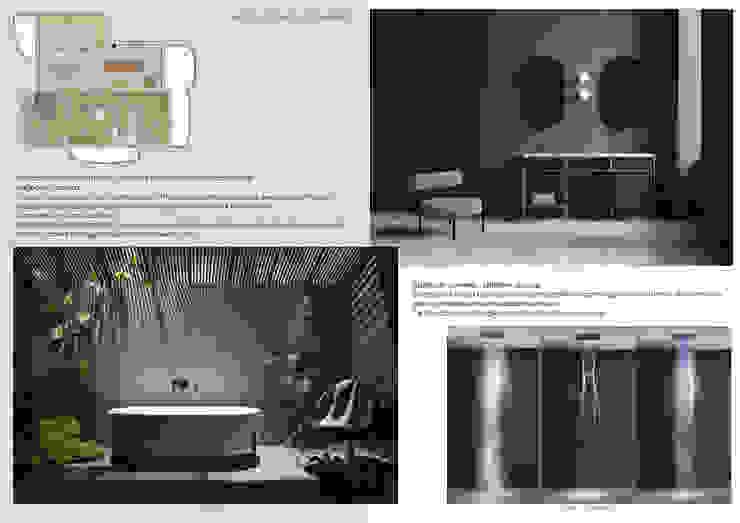 Report Esempio 2_Progetto a Distanza: La Casa di Marmo Bagno moderno di antonio felicetti architettura & interior design Moderno