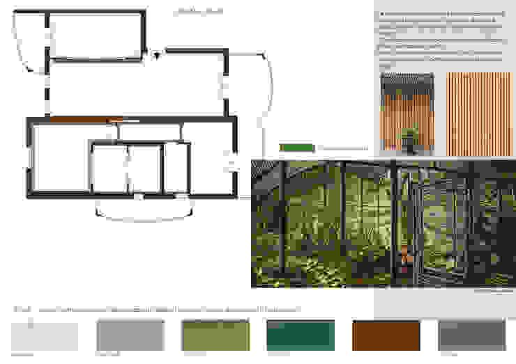 Report Esempio 2_Progetto a Distanza: La Casa di Marmo Cucina moderna di antonio felicetti architettura & interior design Moderno