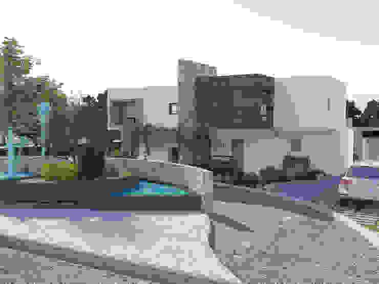 Arquitectura Progresiva Multi-Family house Concrete White