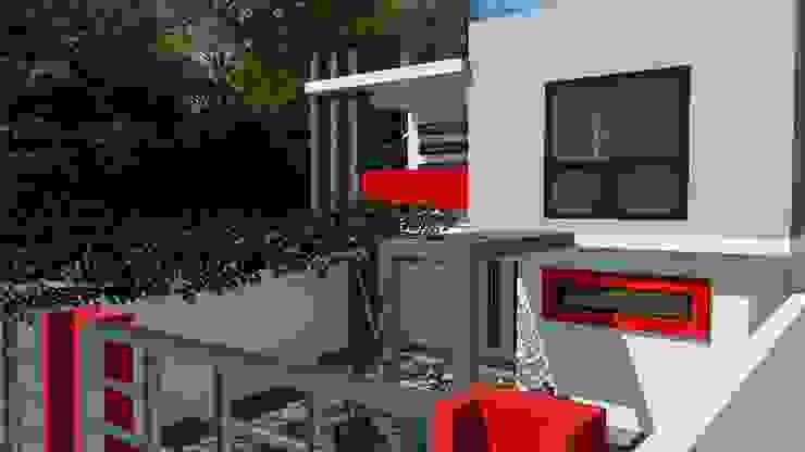 Dacsa Reynosa Rumah keluarga besar Beton Beige