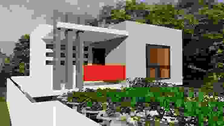 Dacsa Reynosa Rumah keluarga besar Beton White