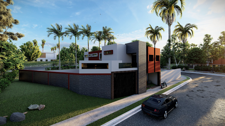 Dacsa Reynosa Condominio Cemento Bianco