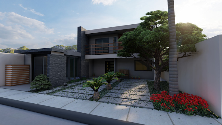 Dacsa Reynosa Multi-Family house Concrete Green