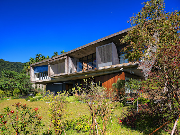 BOX@輕觸大地 大湖森林室內設計 庭院 OSB Multicolored