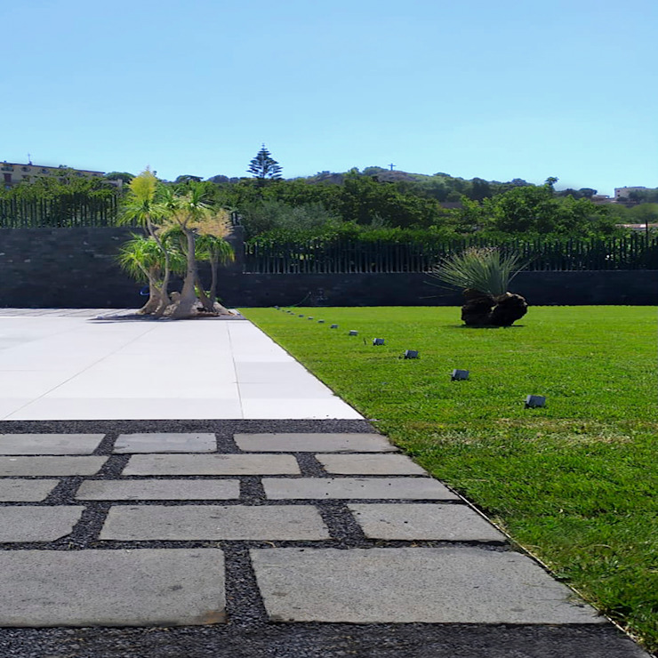giovanni francesco frascino architetto Jardines de estilo moderno