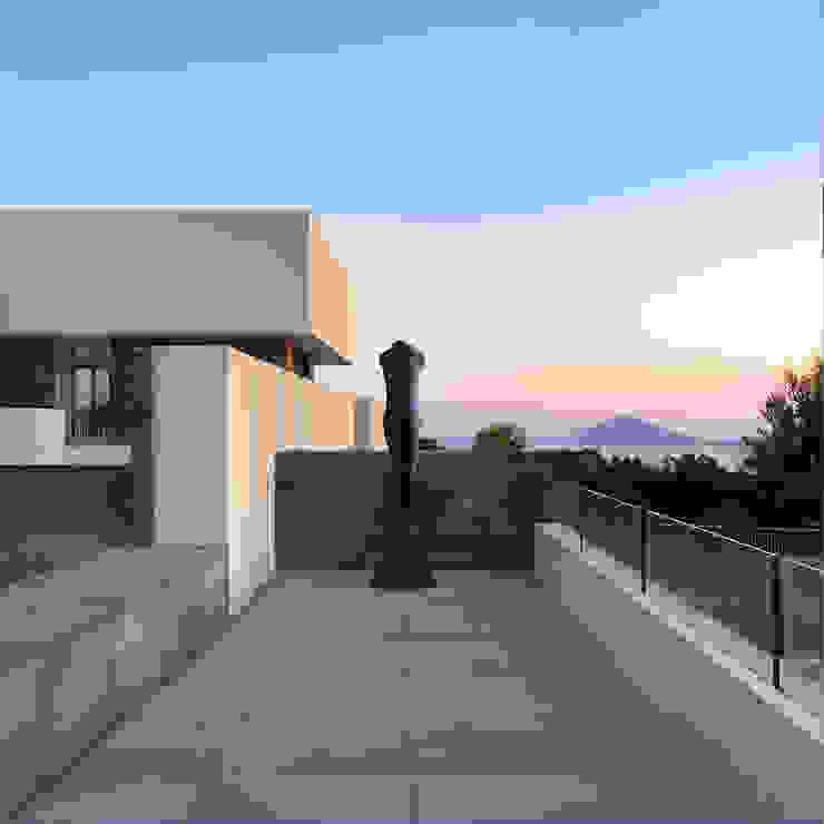 giovanni francesco frascino architetto Balcon, Veranda & Terrasse modernes