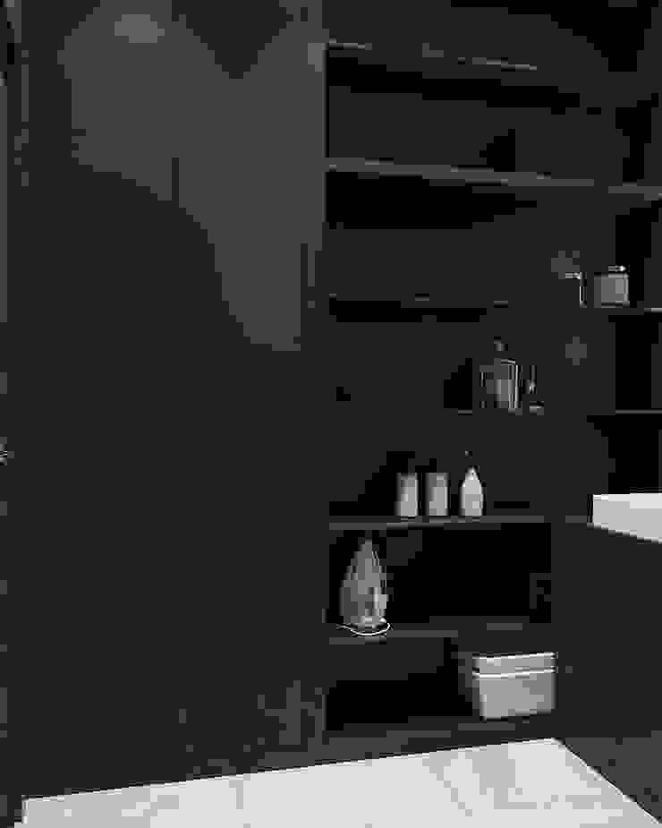 Студия дизайна 'INTSTYLE' ห้องน้ำ เซรามิค Black