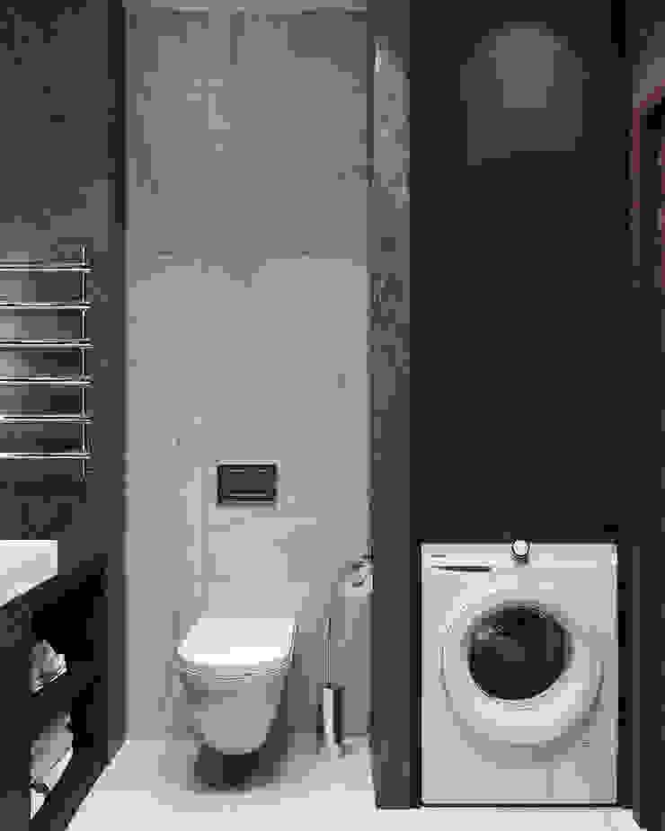 Студия дизайна 'INTSTYLE' ห้องน้ำ เซรามิค White