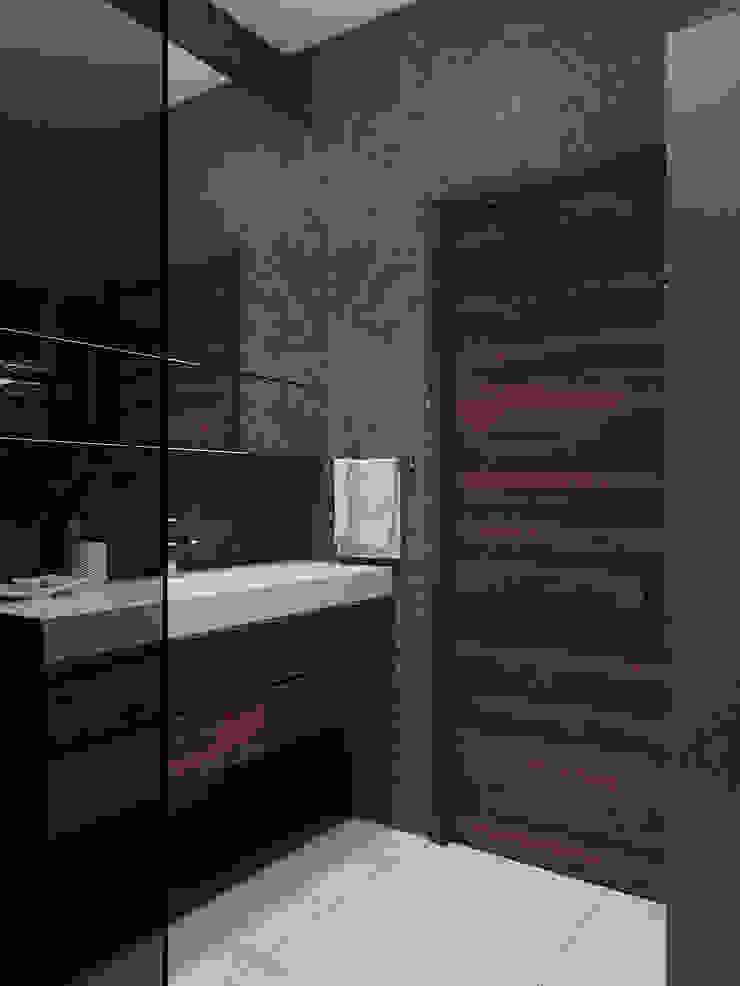 Студия дизайна 'INTSTYLE' ห้องน้ำ ไม้ Brown