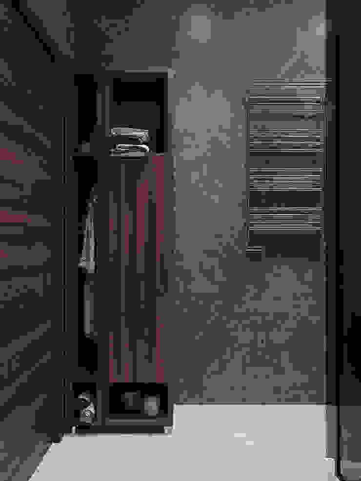 Студия дизайна 'INTSTYLE' ห้องน้ำ เซรามิค Grey