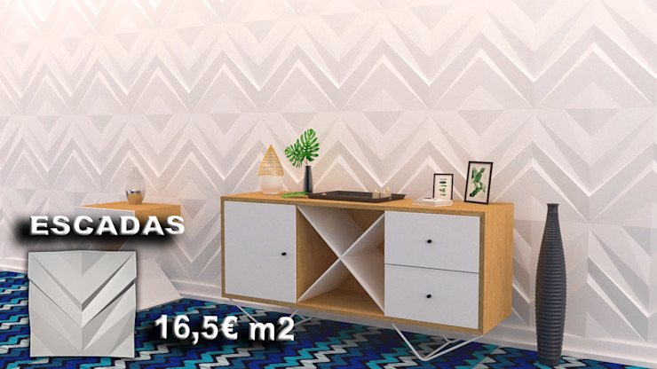 António Campos Aves Gesso 3D Unipessoal LDA Walls & flooringWall tattoos White