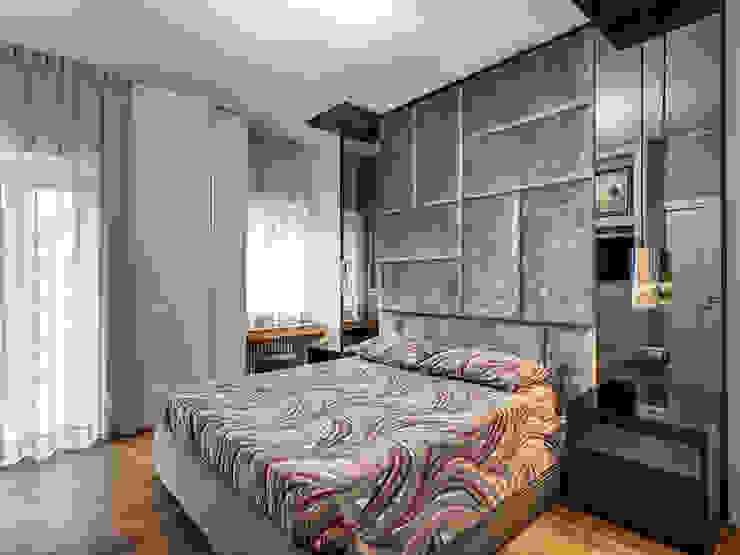 ROCCI MOB ARCHITECTS Camera da letto moderna